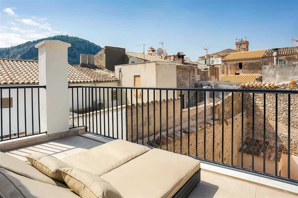 Balcony at Villa Sant Sebastia, Pollensa, Mallorca