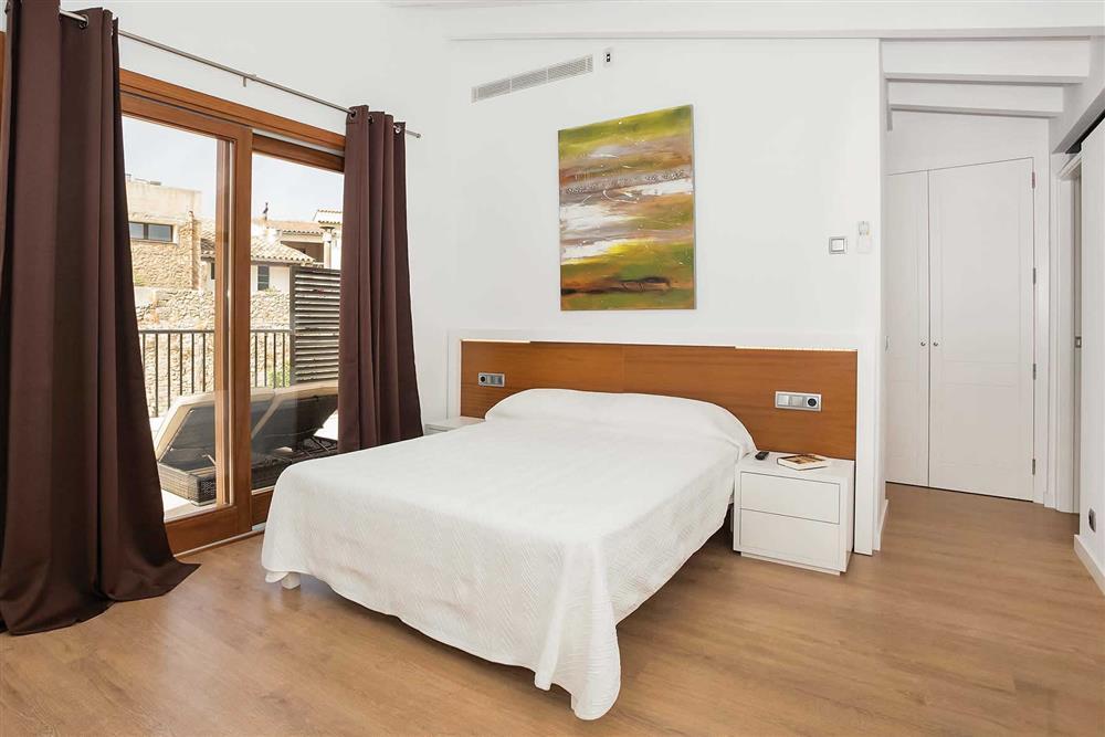 Double bedroom at Villa Sant Sebastia, Pollensa, Mallorca