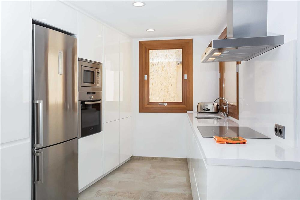 Kitchen at Villa Sant Sebastia, Pollensa, Mallorca