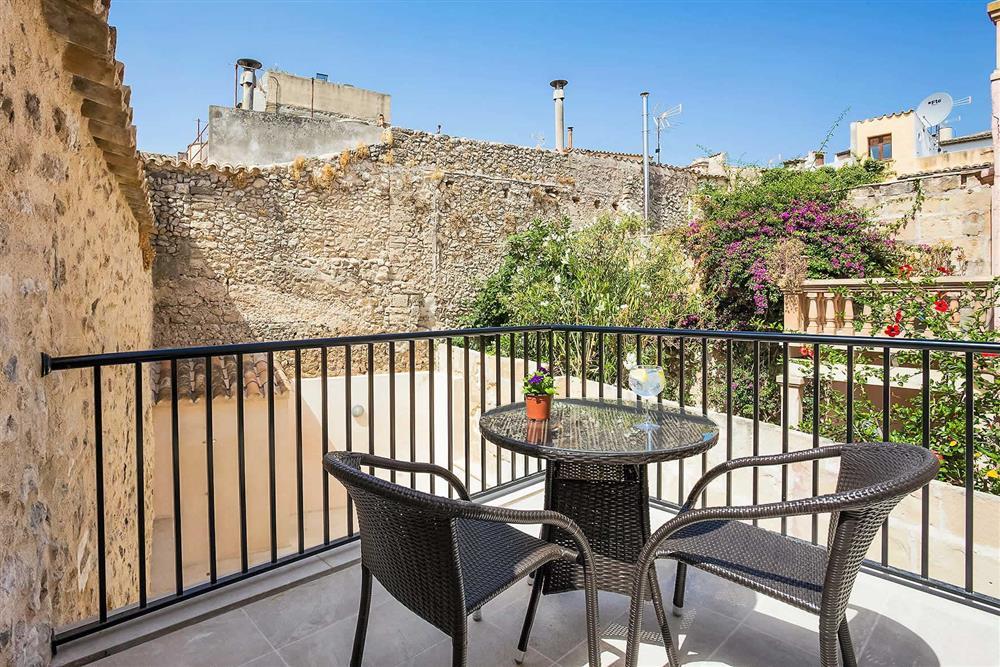 Terrace at Villa Sant Sebastia, Pollensa, Mallorca