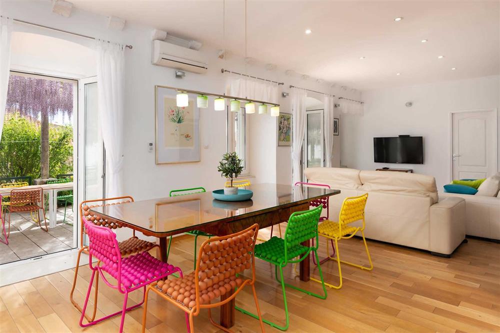 Dining room, lounge, open plan at Villa Seaside Fortress View, Dubrovnik, Dubrovnik Region