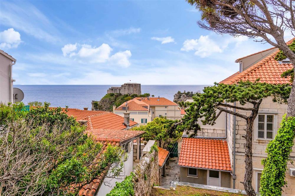 Sea view at Villa Seaside Fortress View, Dubrovnik, Dubrovnik Region