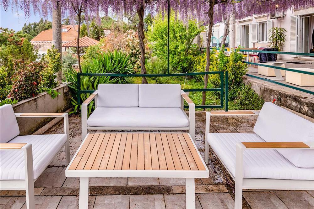 Seating area at Villa Seaside Fortress View, Dubrovnik, Dubrovnik Region