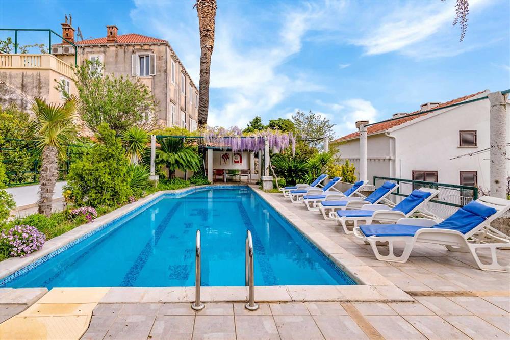 Villa with pool at Villa Seaside Fortress View, Dubrovnik, Dubrovnik Region