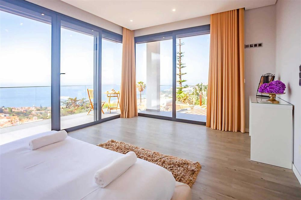 Double bedroom, view at Villa Serafina, Funchal, Madeira