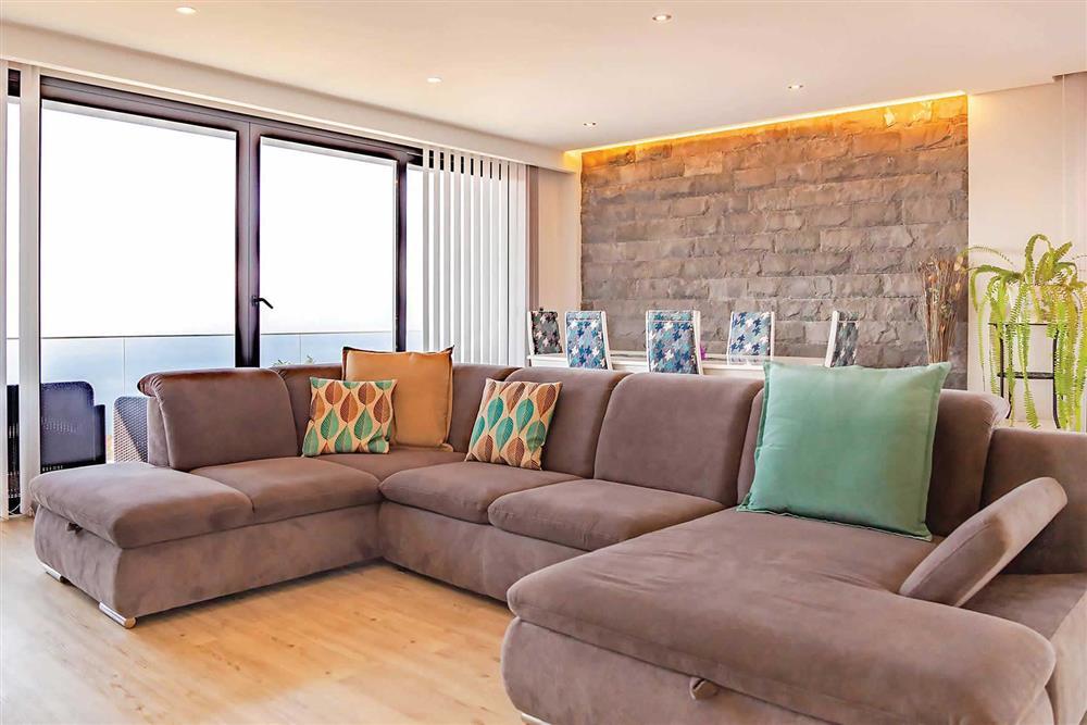 Lounge, dining room at Villa Serafina, Funchal, Madeira
