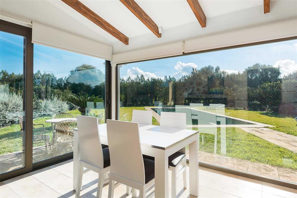 Conservatory at Villa Son Morey II, Can Picafort, Mallorca