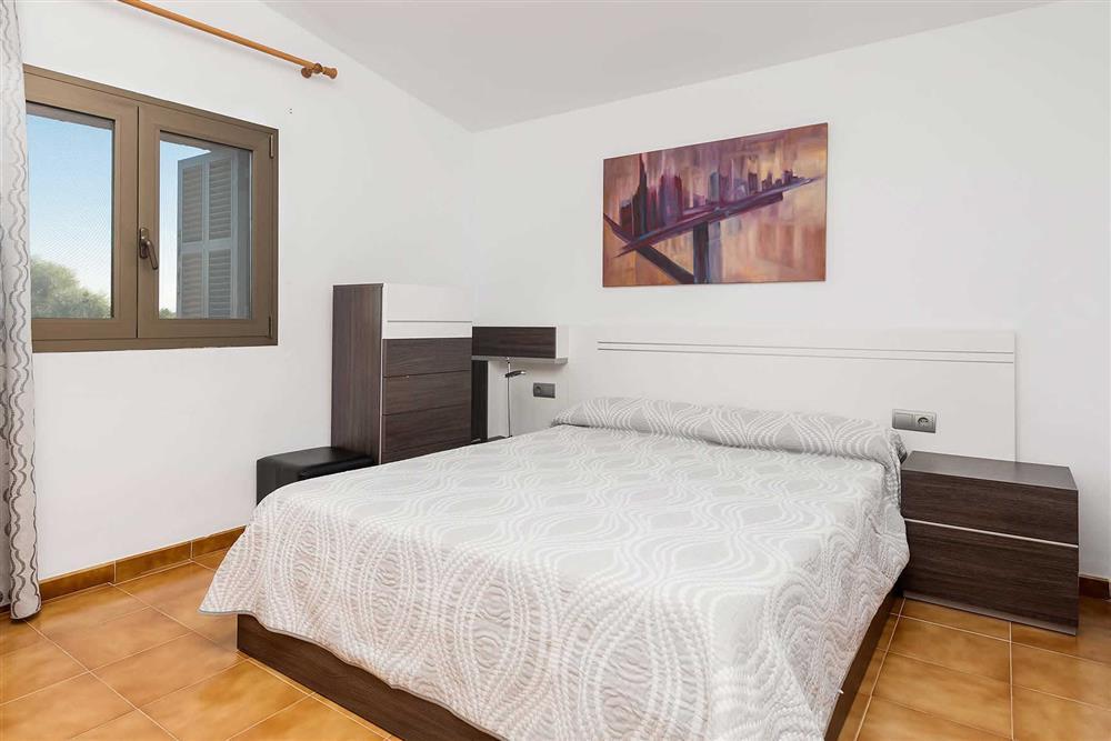 Double bedroom at Villa Son Morey II, Can Picafort, Mallorca