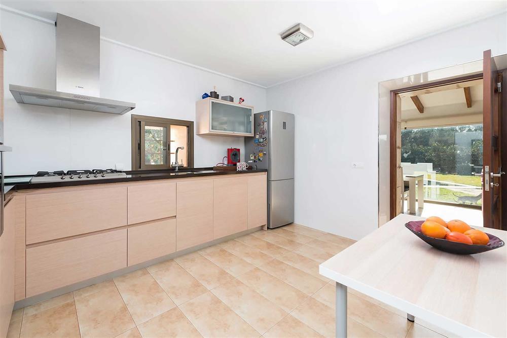 Kitchen (photo 2) at Villa Son Morey II, Can Picafort, Mallorca