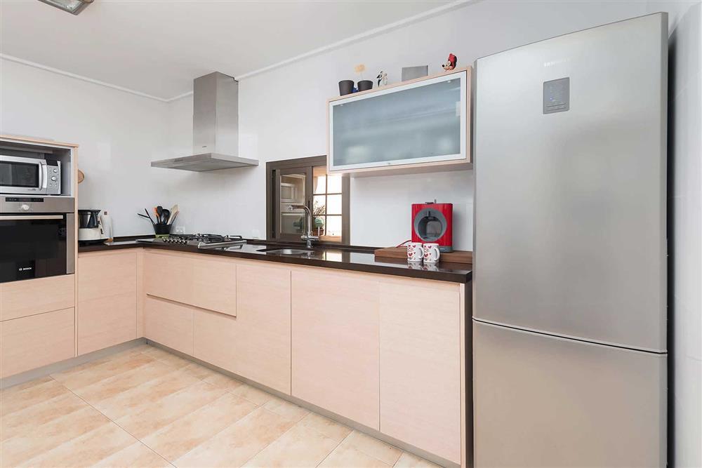 Kitchen at Villa Son Morey II, Can Picafort, Mallorca