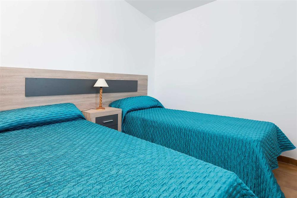Twin bedroom at Villa Son Morey II, Can Picafort, Mallorca