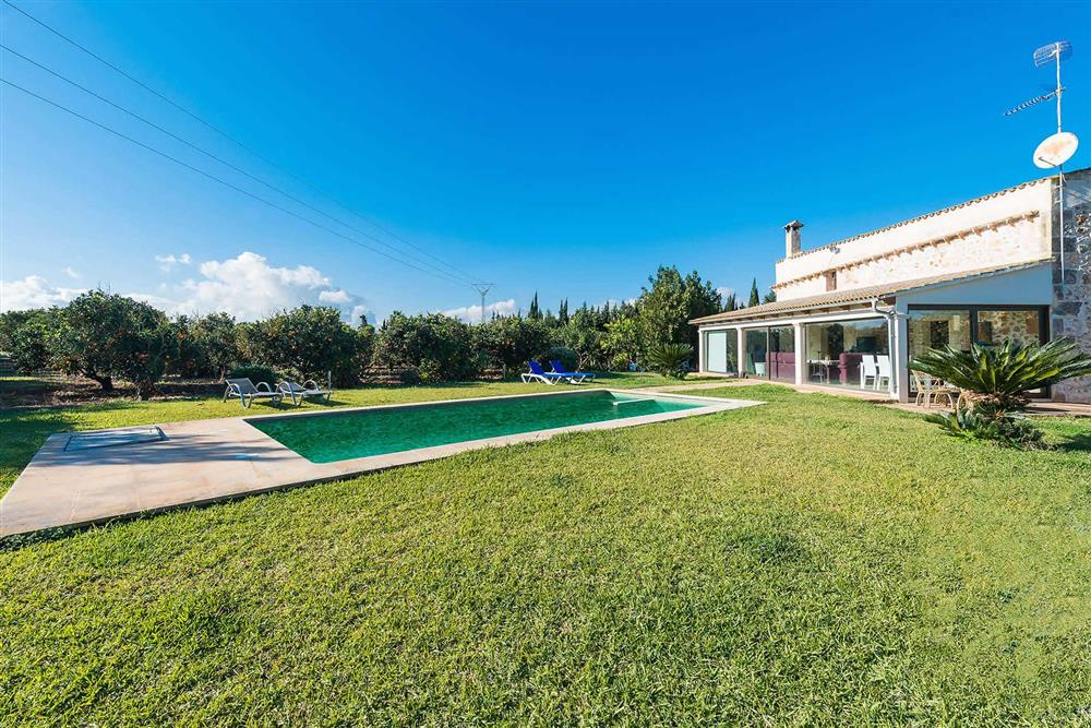 Villa with pool (photo 2) at Villa Son Morey II, Can Picafort, Mallorca