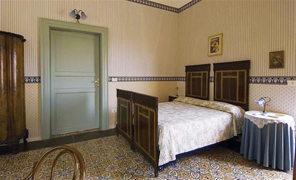 Double bedroom at Villa Trombadore, Modica Sicily, Italy
