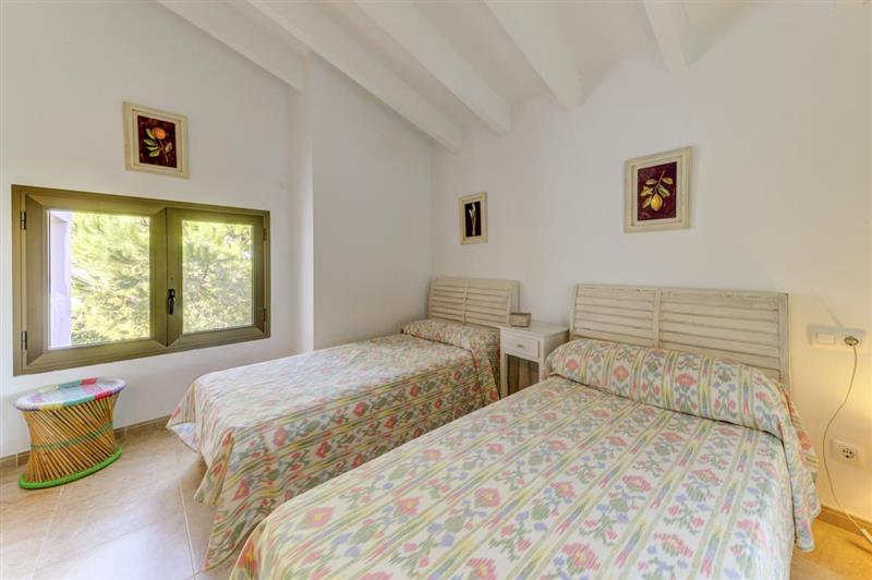 Twin bedroom (photo 2) at Villa Tulipan, Alcudia, Spain
