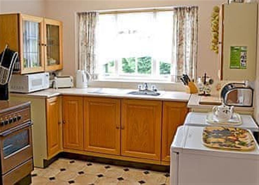 Kitchen at Walsham Wood Cottage in Nr North Walsham, Norfolk., Great Britain