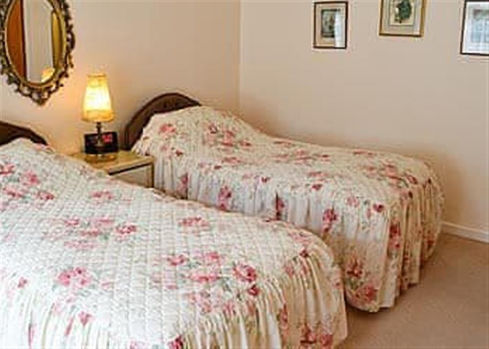 Twin bedroom at Walsham Wood Cottage in Nr North Walsham, Norfolk., Great Britain