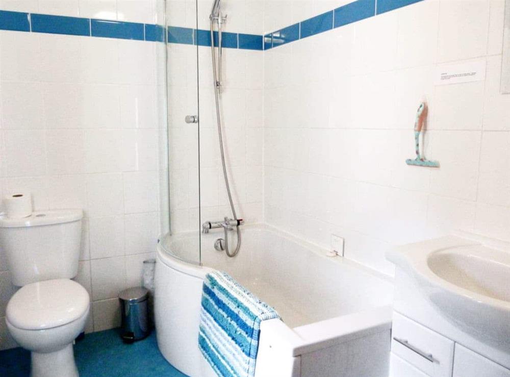 Bathroom at Watchkeepers Cottage in Mundesley, Norfolk