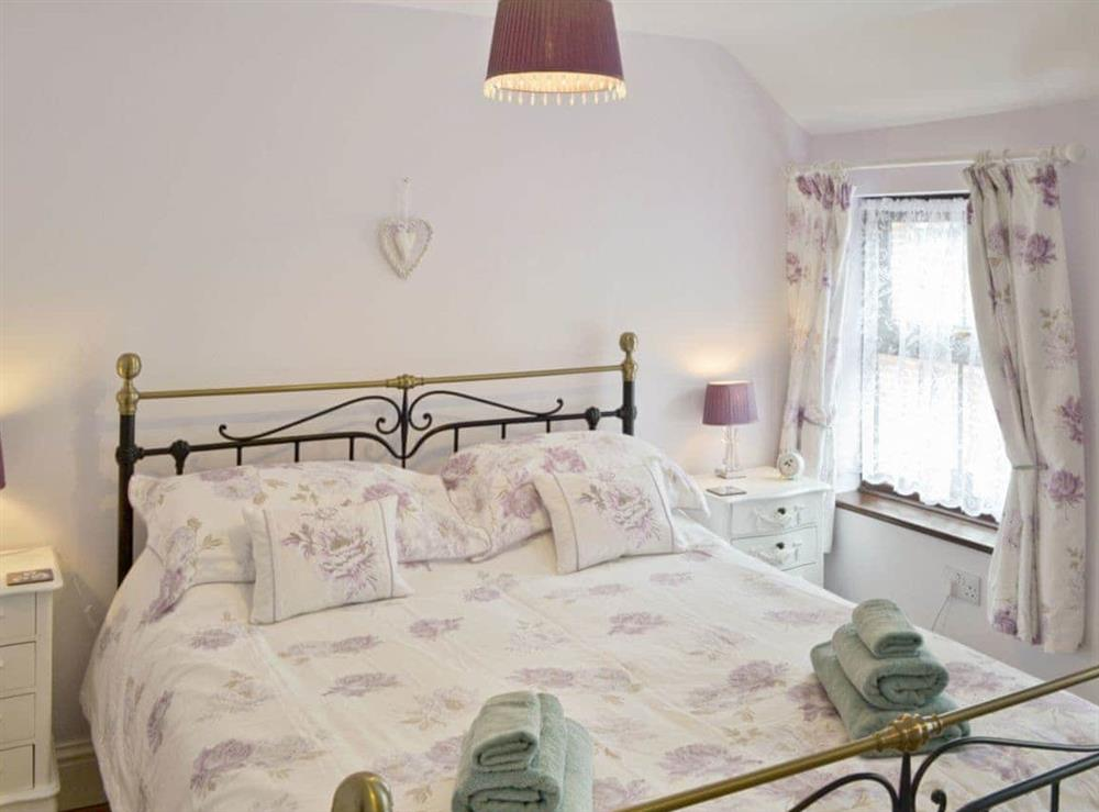 Double bedroom at Watchkeepers Cottage in Mundesley, Norfolk