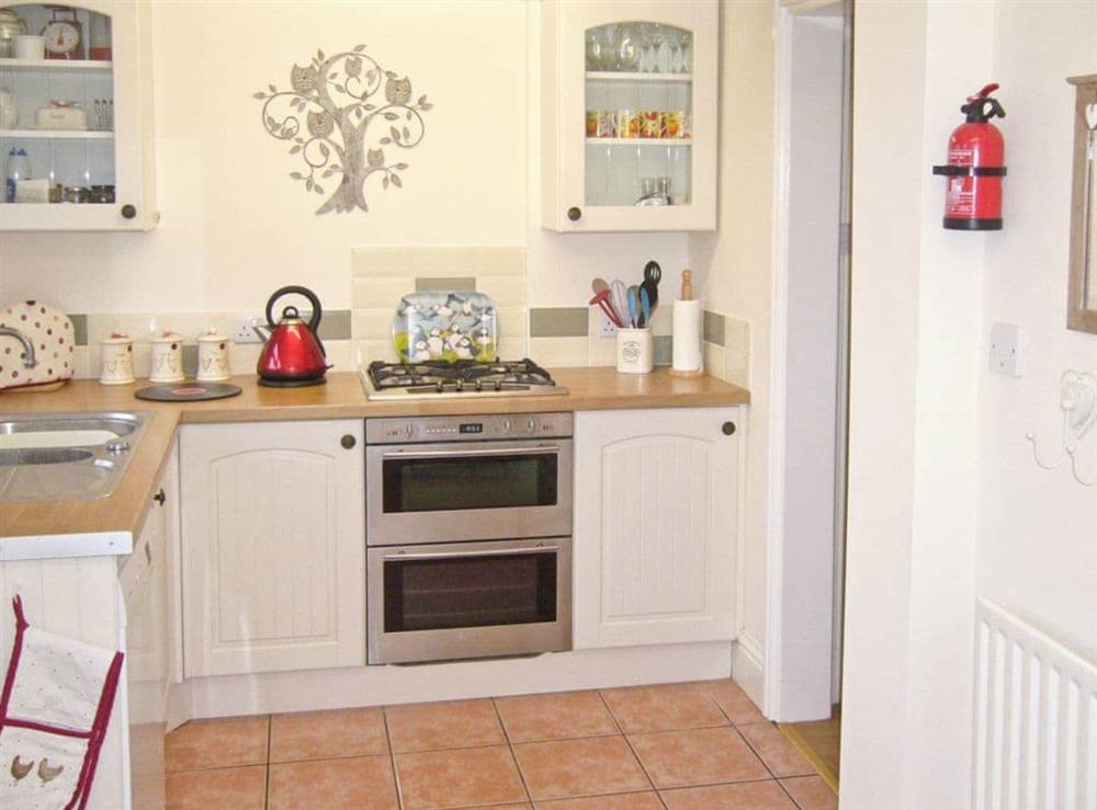 Kitchen at Watchkeepers Cottage in Mundesley, Norfolk