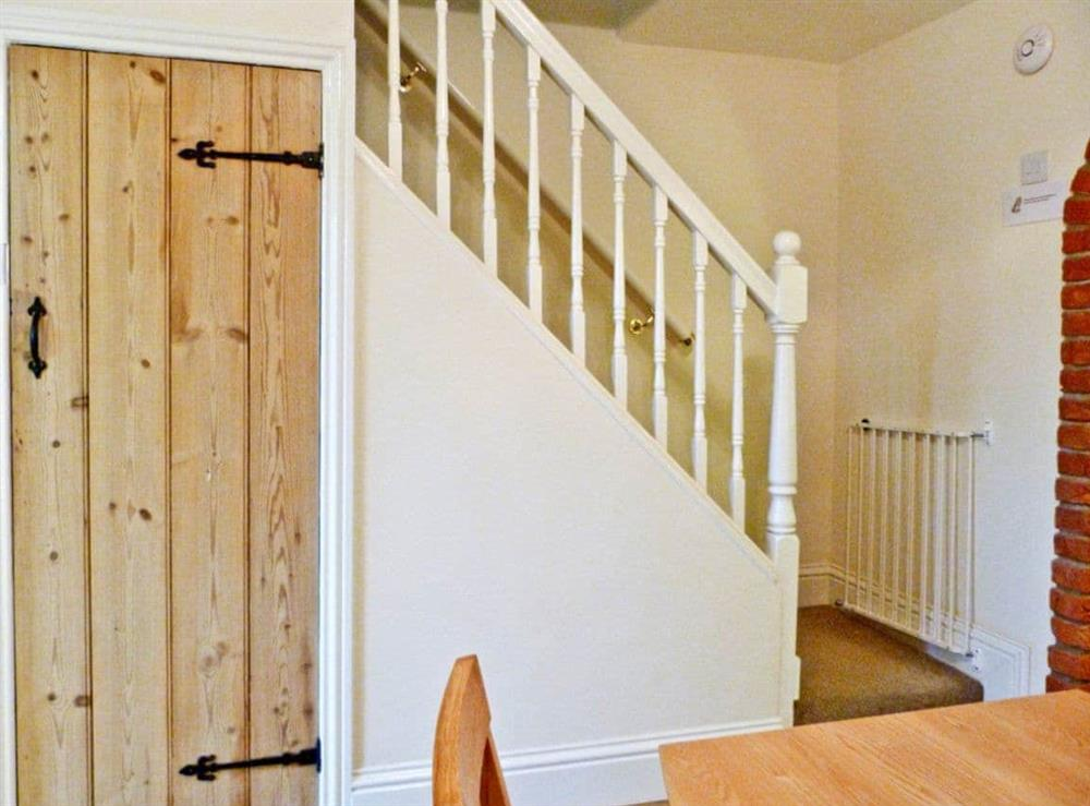 Stairs at Watchkeepers Cottage in Mundesley, Norfolk