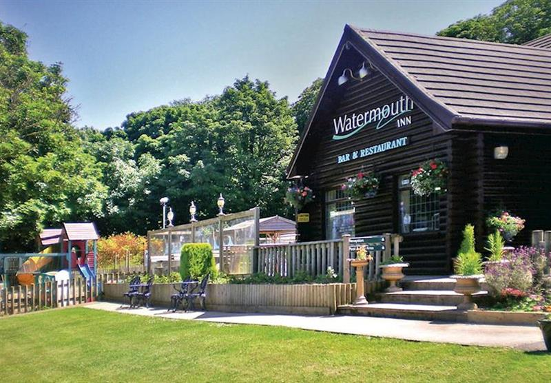 Restaurant at Watermouth Lodges in North Devon, South West of England