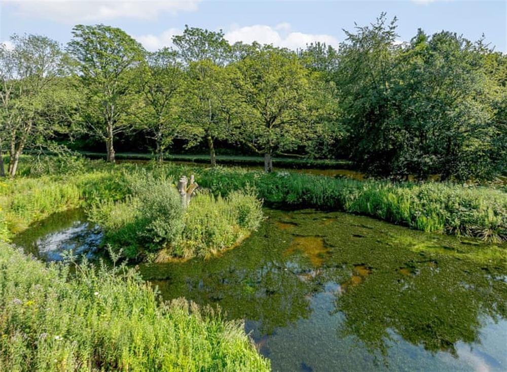 Enviable waterside location