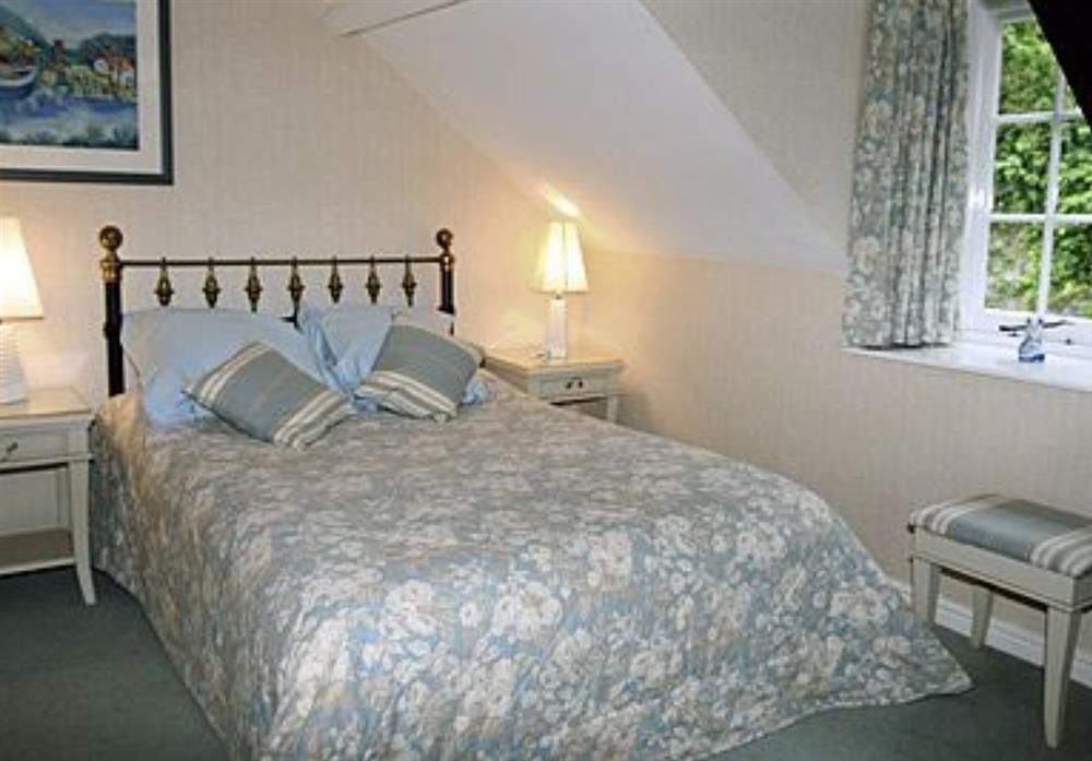 Bedroom at Waterwheel in Bow Creek, Nr Totnes, South Devon., Great Britain