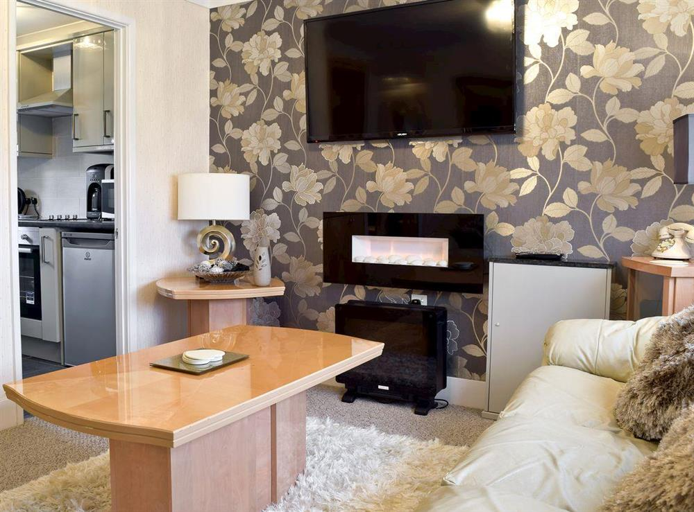 Cosy living room at Waveney Valley in Burgh Castle, near Great Yarmouth, Norfolk