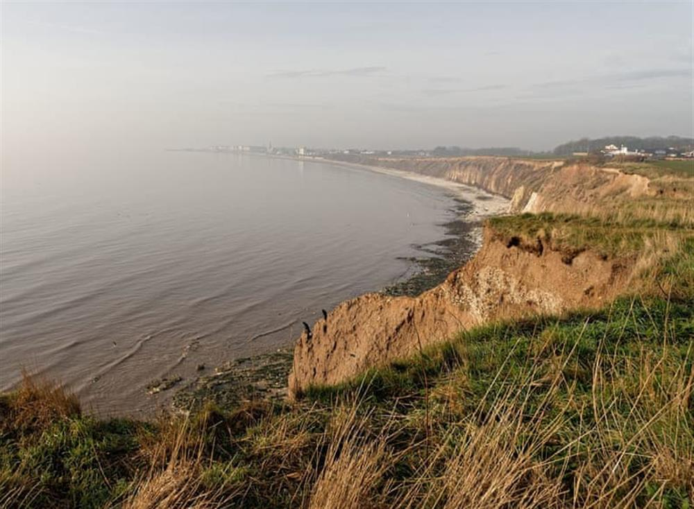 Picturesque coastal surroundings at Waves and Wolds in Sewerby, near Bridlington, North Humberside