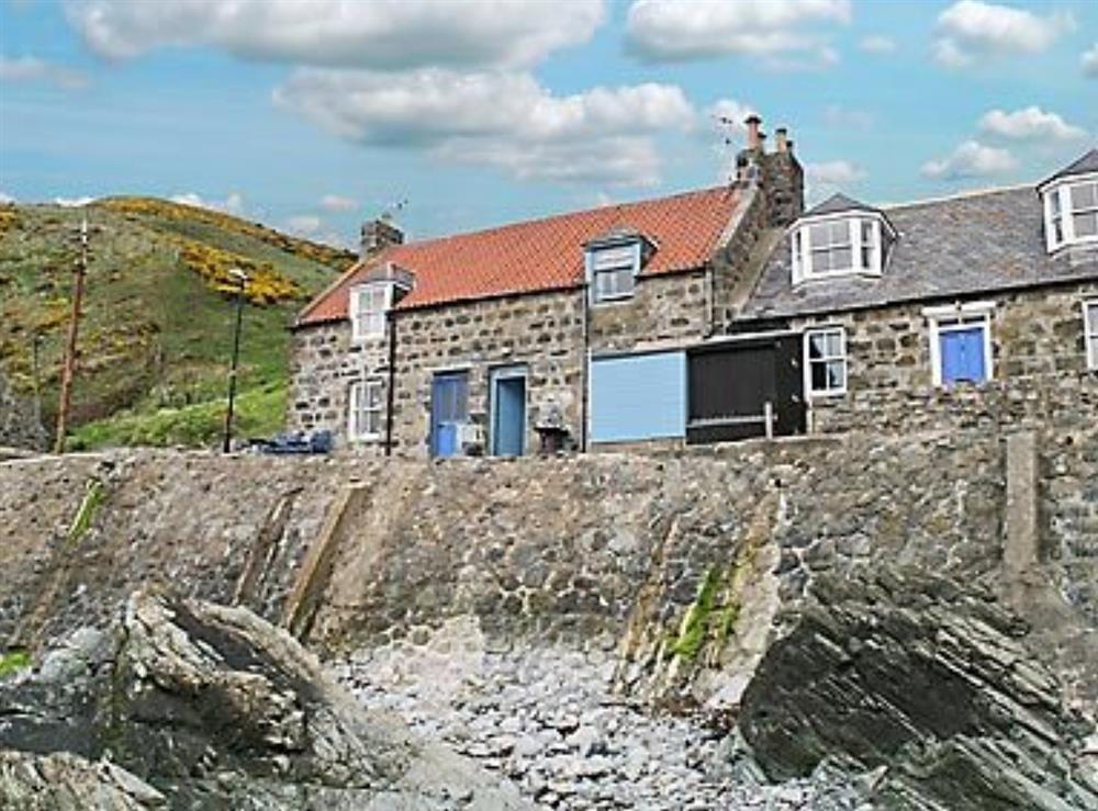 Photo 1 at Weavers Cottage in Crovie, Banff, Aberdeenshire