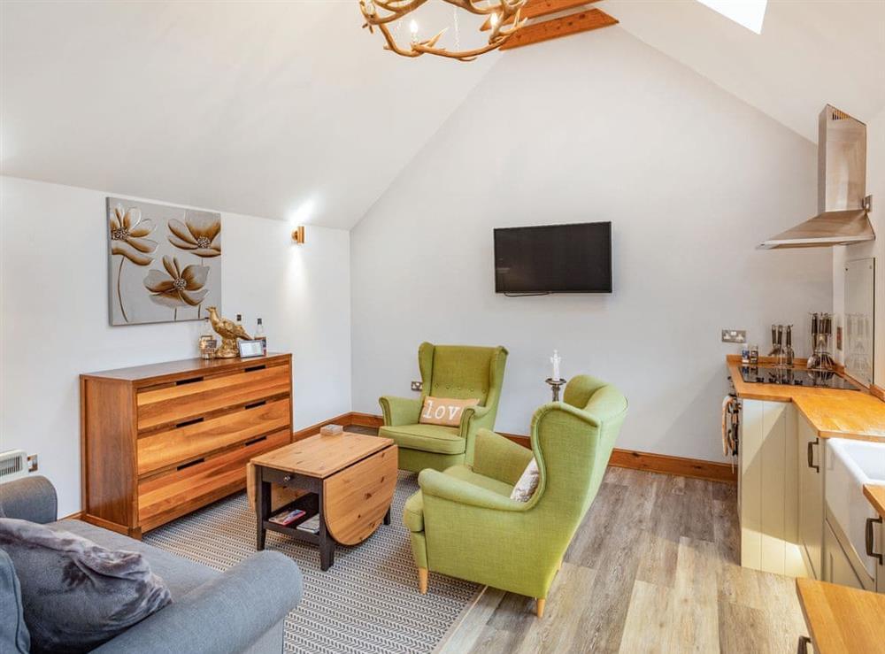 Open plan living space at 2 Wee Kalf,