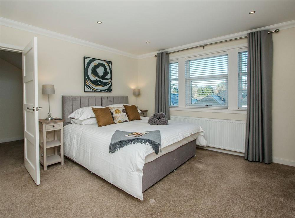 Comfortable double bedroom at Wellpark in Alloway, near Ayr, Ayrshire