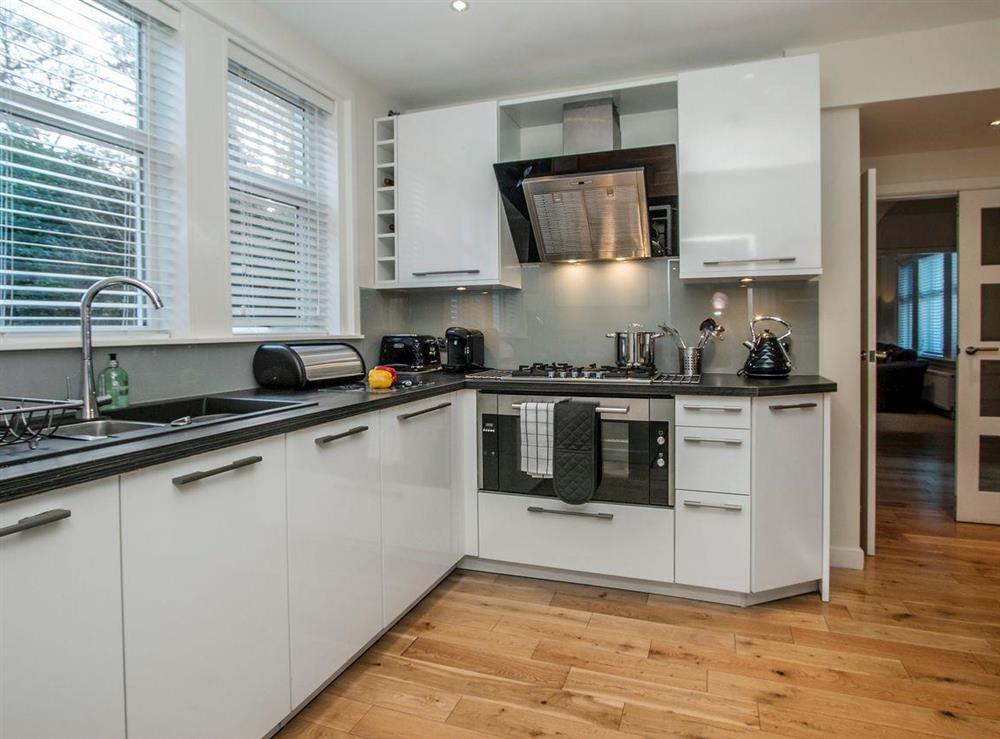 Contemporary kitchen (photo 2) at Wellpark in Alloway, near Ayr, Ayrshire