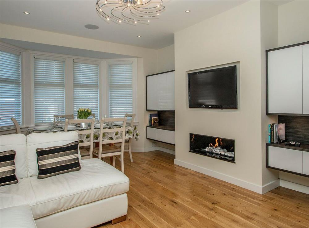 Relaxing living area at Wellpark in Alloway, near Ayr, Ayrshire