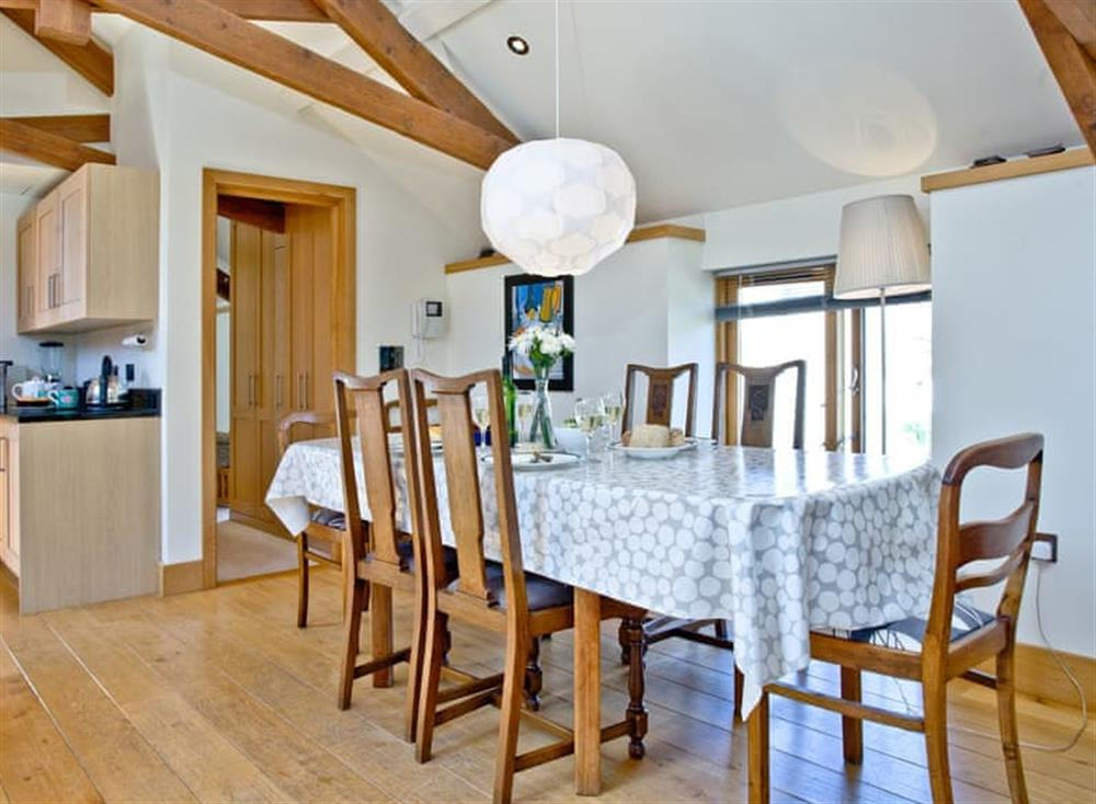Dining Area (photo 2) at Wells Park Barn in Dartmouth & Kingswear, South Devon