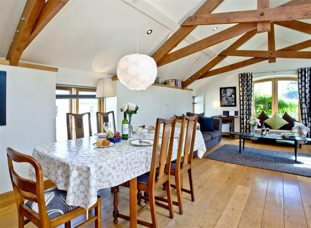 Dining Area (photo 3) at Wells Park Barn in Dartmouth & Kingswear, South Devon