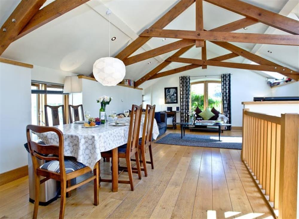 Dining Area at Wells Park Barn in Dartmouth & Kingswear, South Devon