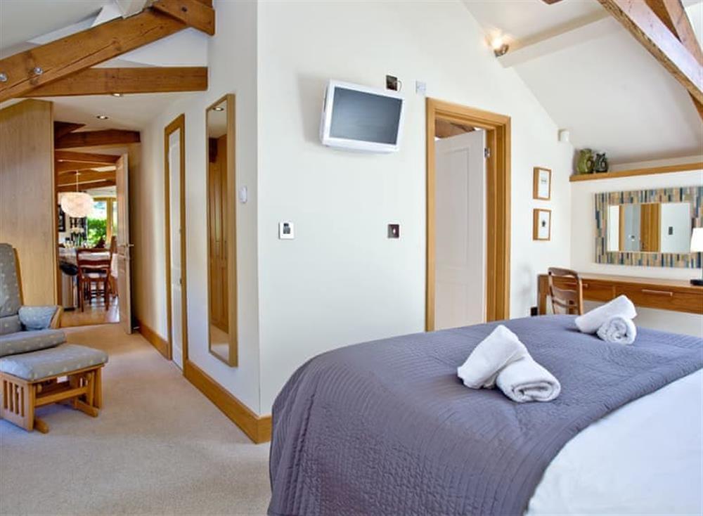 Double bedroom (photo 3) at Wells Park Barn in Dartmouth & Kingswear, South Devon