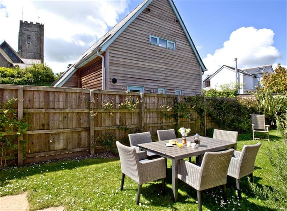 Garden at Wells Park Barn in Dartmouth & Kingswear, South Devon