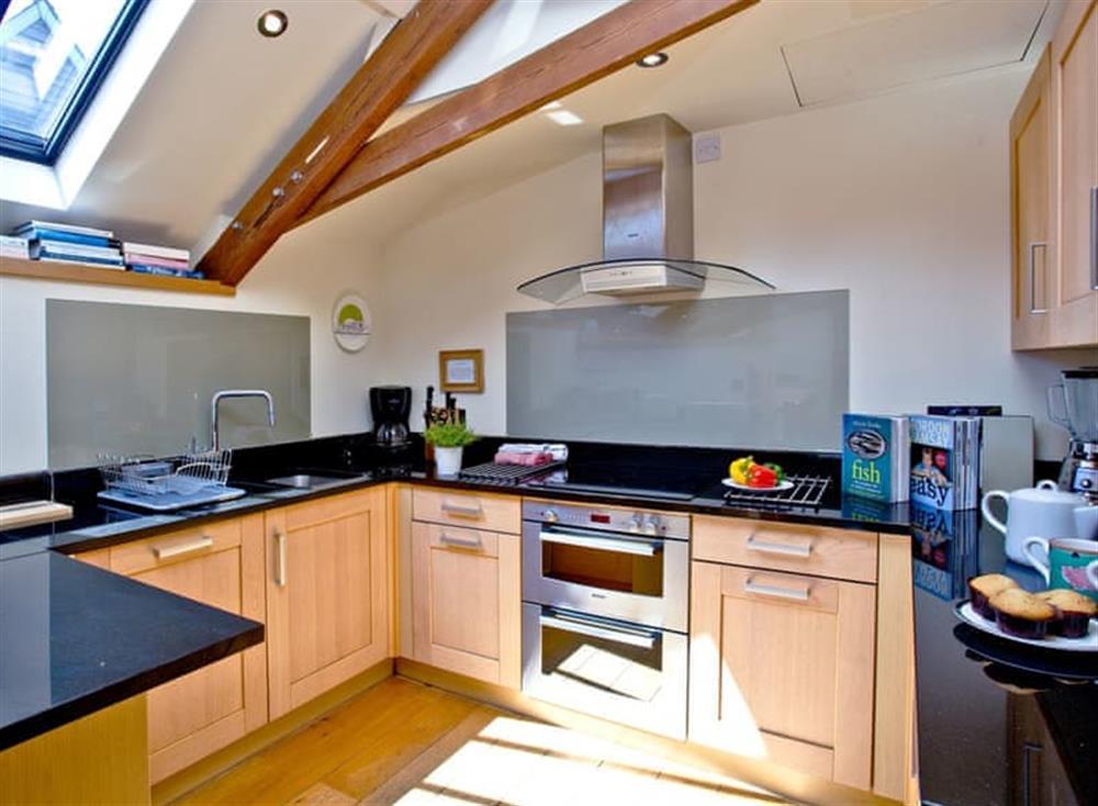 Kitchen at Wells Park Barn in Dartmouth & Kingswear, South Devon
