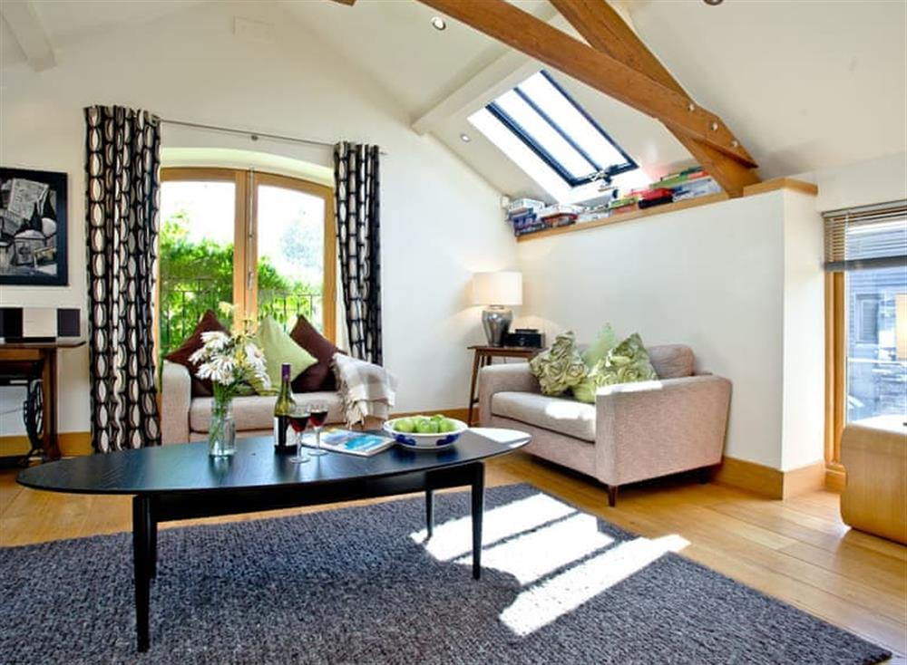 Living area (photo 2) at Wells Park Barn in Dartmouth & Kingswear, South Devon