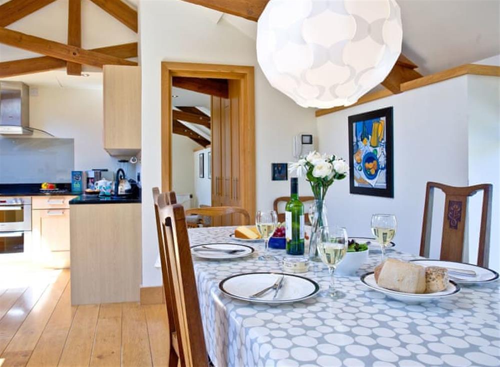 Open plan living space (photo 2) at Wells Park Barn in Dartmouth & Kingswear, South Devon