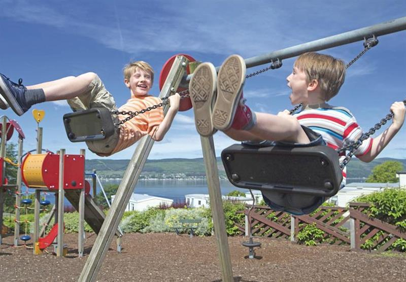 Adventure play park at Wemyss Bay in Renfrewshire, Western Scotland, South West Scotland