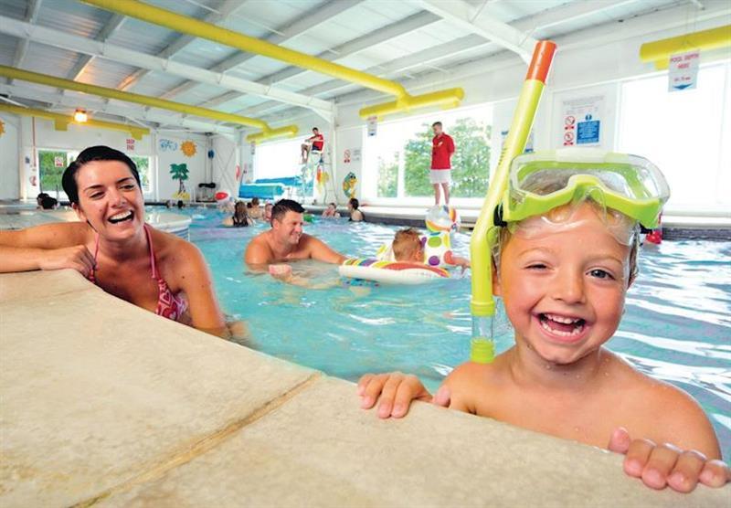 Indoor heated swimming pool at Wemyss Bay in Renfrewshire, Western Scotland, South West Scotland