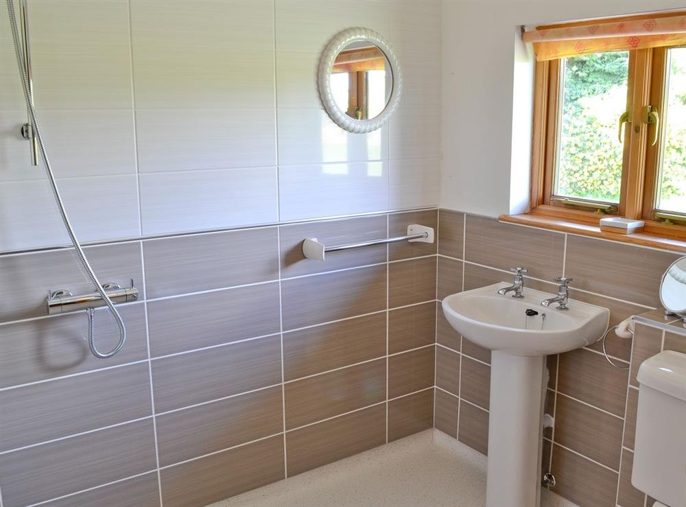 Bathroom at Wessex Lodge in West Stour, near Shaftesbury, Kent