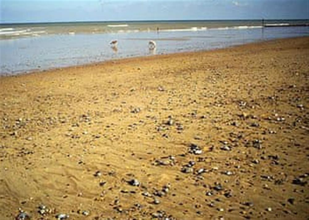 Beach at West Cottage in Lessingham, Norwich, Norfolk., Great Britain