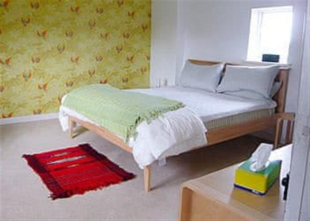 Double bedroom at West Cottage in Lessingham, Norwich, Norfolk., Great Britain