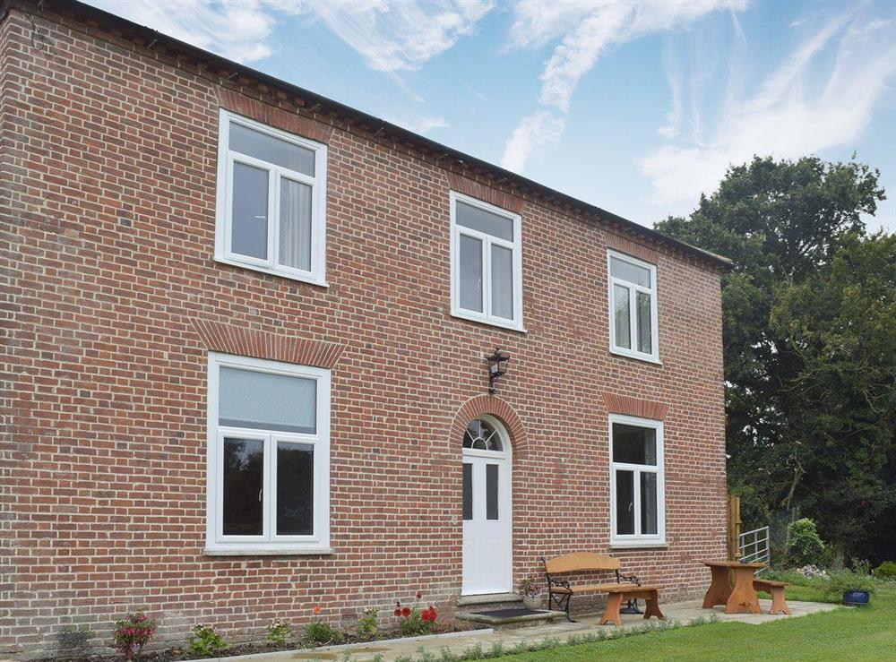 Exterior at West End House in Shadingfield, near Beccles, Suffolk
