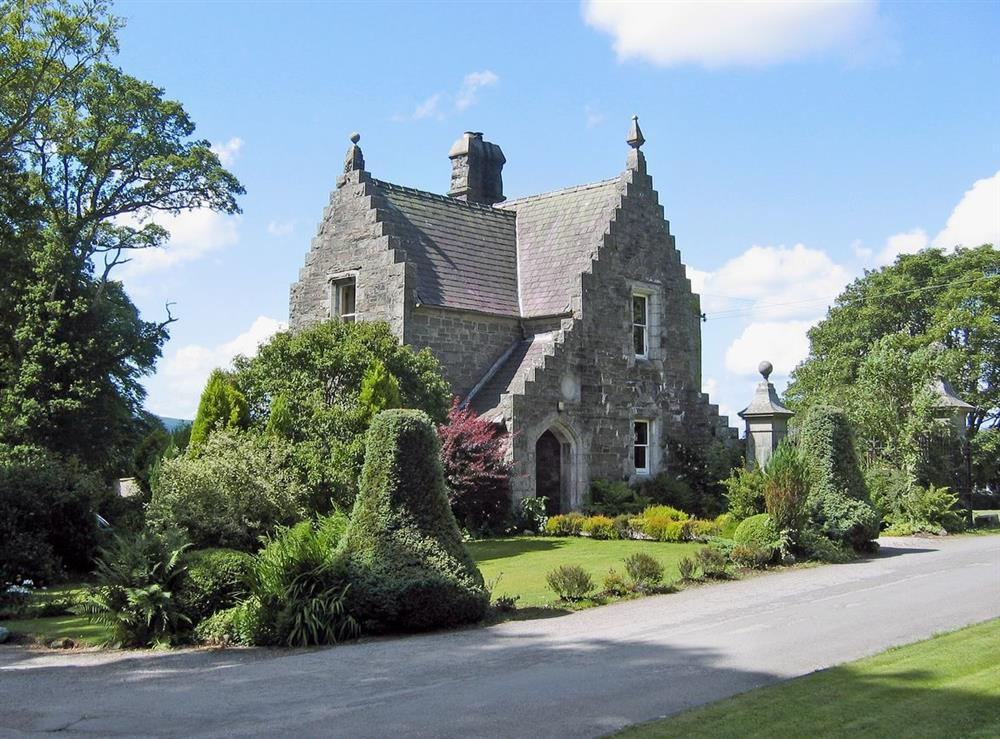 Exterior at West Lodge Cally Estate in Gatehouse of Fleet., Kirkcudbrightshire