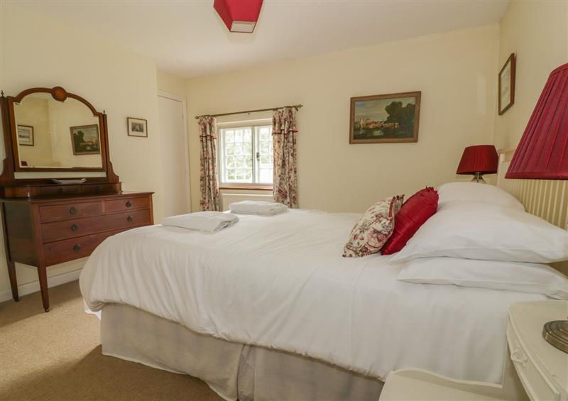 This is a bedroom at West Lodge, Castle Hedingham
